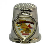 Souvenir Thimble - California - CA