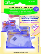 Clover Desk Needle Threader, Purple