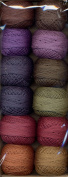 Valdani Size 12 Perle Cotton Embroidery Thread Bigsby Designs Dark Collection