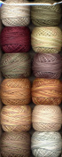 Valdani Size 12 Perle Cotton Embroidery Thread Country Lights Collection 2