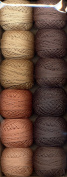 Valdani Size 12 Perle Cotton Embroidery Thread As Time Goes By Collection 2