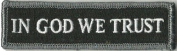 In GOD We Trust - Tactical Morale Patch - Black