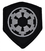 Galactic Empire Imperial Seal Star Wars 3x2.5 Shield Military Patch / Morale Patch - Black