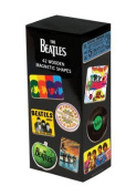 The Beatles 42 Wooden Magnetic Shapes
