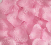 JUYO VONSAN 2000pc Deep Pink Silk Rose Petals Wedding Flowers Favours for you special wedding