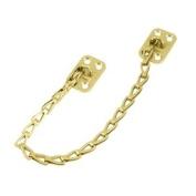 Deltana TC82U3 Bright Brass Transom Chain 33cm - 0.3cm Transom Chain