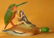Couple on a Duck Seduction Sin Statue by Hieronymos Bosch JB26 Parastone