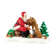 Santa Comes To Town, 2014 | Department 56 Figurine