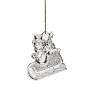 Marquis By Waterford 2014 Snowman Ornament