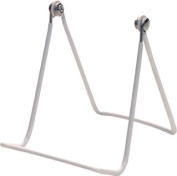Two Wire Display Stand for Art, plates, hats, and more; Set of 2- 2a - White