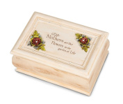 Pavilion Gift Company Simple Spirits 41025 Hinged Music Box, 15cm by 10cm , Mother