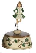 18cm Musical Irish Dancer Figurine
