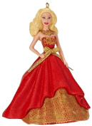 Holiday Barbie Caucasian 2nd in Series 2014 Carlton Heirloom Ornament