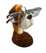 WisdomCraft Handmade Wooden Eyeglass Holder-Dog