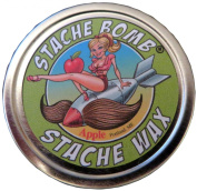 Apple Stache Bomb Stache Wax- Moustache Wax From Maine