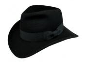 Men's 100% Soft & Crushable Wool Felt Indiana Jones Style Fedora Hats
