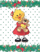 Suzy's Note Card Collection Stationery, Suzy Ducken & Willie Bear Christmas - 10894