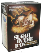In The Raw - Sugar In The Raw Natural Cane Turbinado Sugar From Hawaii - 100 Packet