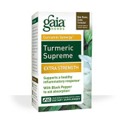 Gaia Herbs Turmeric Supreme Extra Strength Liquid Phyto-Capsules, 60 Count