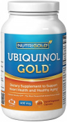 Ubiquinol GOLD, 100 mg, 120 Liquid Vegetarian Capsules - Kaneka QH Ubiquinol CoQ10 in New 100% Vegan and Non-GMO Formula