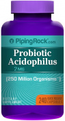 Probiotic Acidophilus 250 Million Organisms 240 Capsules