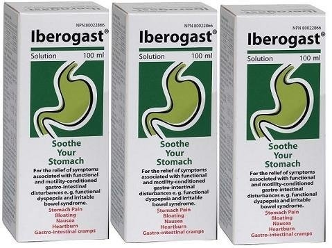 Iberogast LARGE SIZE (100ml) THREE BOTTLES- for Dyspepsia, Bloating,  Stomache Pain and Heartburn Brand: Medical Futures