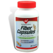 400 Capsules Fibre Therapy for Regularity/Fibre Supplement. the Active Ingredient in Metamucil Capsules