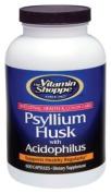 Vitamin Shoppe - Psyllium Husk With Acidophilus, 600 capsules