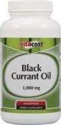 Vitacost Black Currant Oil -- 1000 mg - 120 Softgels