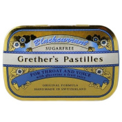 Grether's Sugarless Black Currant Pastilles 110ml pastilles