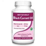 Best Naturals Black Currant Oil 500 mg, 70 mg of GLA, 100 Softgels