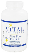 Vital Nutrients - Ultra Pure Fish Oil 360mg/240mg 120 gels [Health and Beauty]