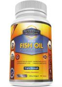 PacificCoast NutriLabs 2000mg Fish Oil, 1,400mg Omega 3, 800mg EPA, 600mg DHA. 120 Count