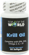 Top of the World Naturals, Krill Oil, 1000 mg, 60-Softgels