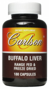 Carlson Labs - Buffalo Liver 500 mg. - 60 Capsules