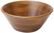 Woodard & Charles Wood Salad Bowl, 28cm , Walnut