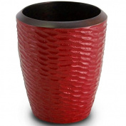 Enrico 3140MH1080 Mango Wood Honeycomb Utensil Vase, Chilli Pepper