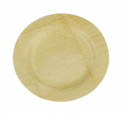 Island Bamboo 18cm Disposable Bamboo Plates, 10-Count Bag