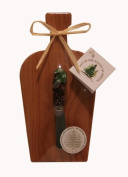 Out of the Woods of Oregon Mini Wine Board with Purple Grape Spreader
