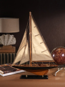 Zodax Wooden Model Sailboat