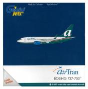 Gemini Jets Airtran B737-700W Diecast Aircraft