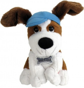 "Chantilly Lane Best Friend Dog Sings ""Thank You for Being a Friend"" 25cm Plush"