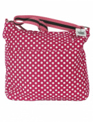 Shoulder Bags for Women Pink Polka Dot - Ladies Cross Body Tote Beach Canvas teenagers Bag