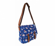 More4bagz Ladies Womens Canvas Shoulder Satchel School Messenger Cross Body Handbag Bag