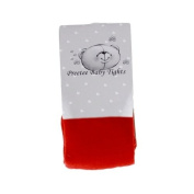 Cotton Rich Baby Girl's Tights by Preetee Kids - Red