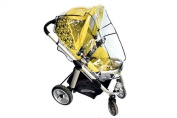 UNIVERSAL RAIN COVER MOSQUITO NET FIT MOST PUSHCHAIRS STOLLERS CAR SEATS BUGGIE