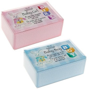 BABY BOY GIRL MUSICAL GIFT BOX SET CHRISTENING BIRTH KEEPSAKE MESSAGE NEW MEMORY
