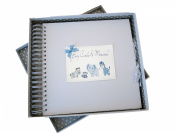 White Cotton Cards Baby's Card and Memory Book