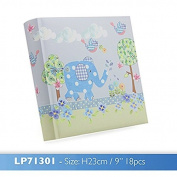 little bird & ellie photo album blue in gift box one supplied