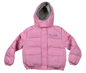 Colorado Avalanche NHL Hockey Girl's Youth Winter Hooded Jacket, Pink